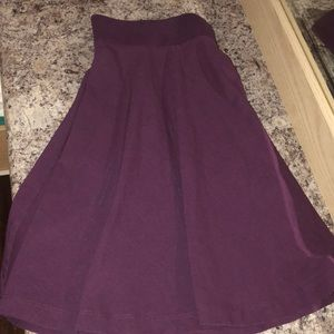 H&M cute flare mini skirt